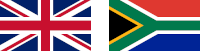 English British South African